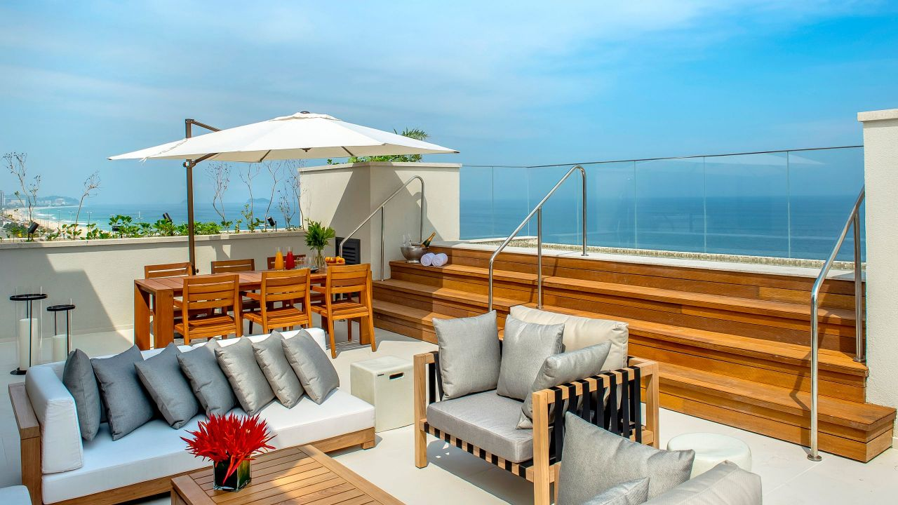 Grand Hyatt Rio de Janeiro | Penthouse Suite Dining Room