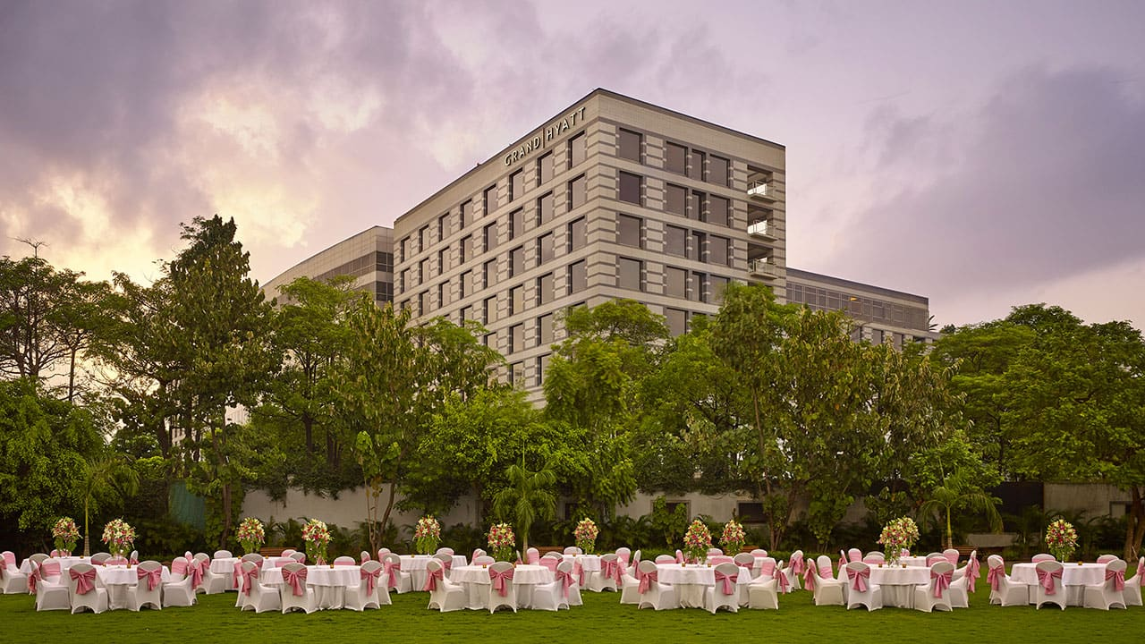 Wedding Lawns in Mumbai | Grand Hyatt Mumbai