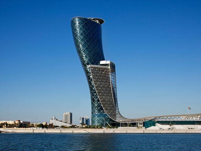 Hyatt Capital Gate Abu Dhabi Exterior