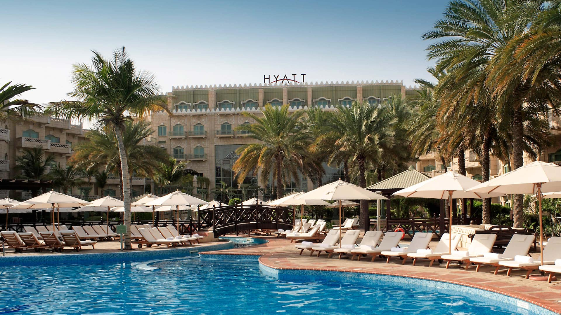 Hotel Pool at Grand Hyatt Muscat