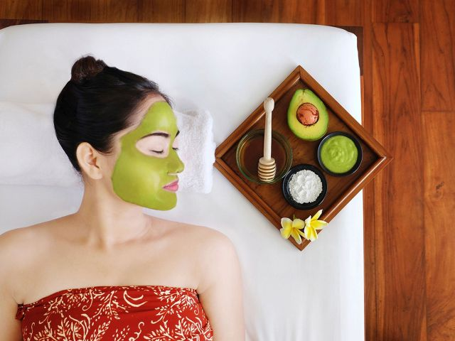 avocado masque
