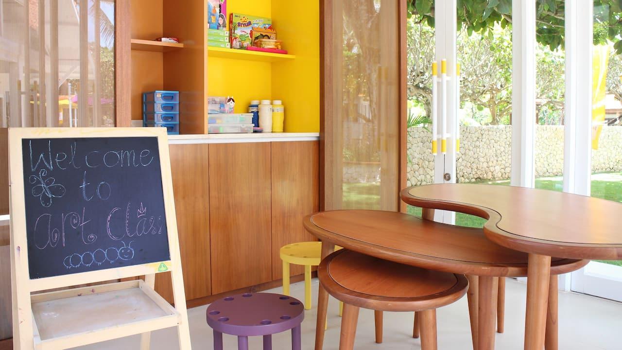 Bali with Kids, Kids Club Grand Hyatt Bali Nusa Dua