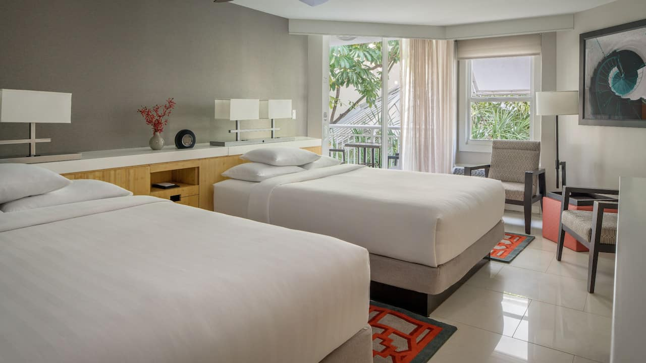 Room with 2 Queen Beds and Partial Ocean View at Hyatt Centric Key West