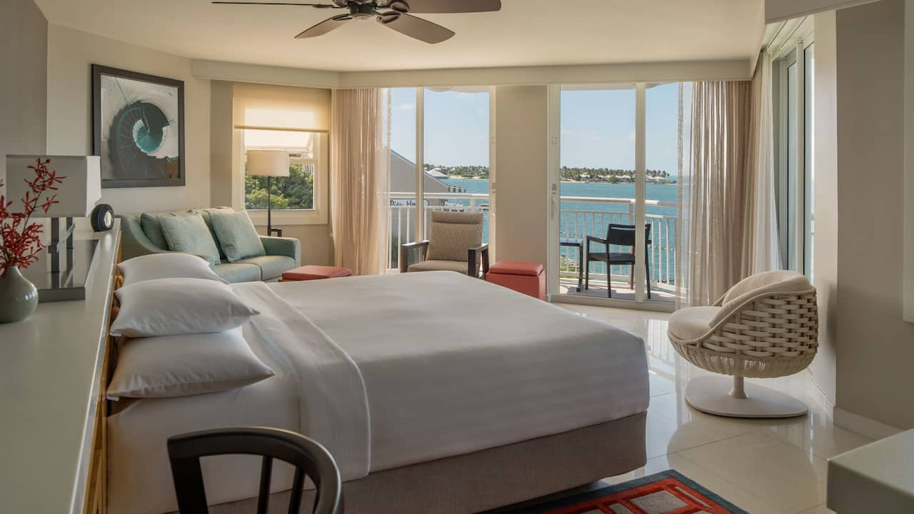 1 King Deluxe Room with Ocean View at Hyatt Centric Key West