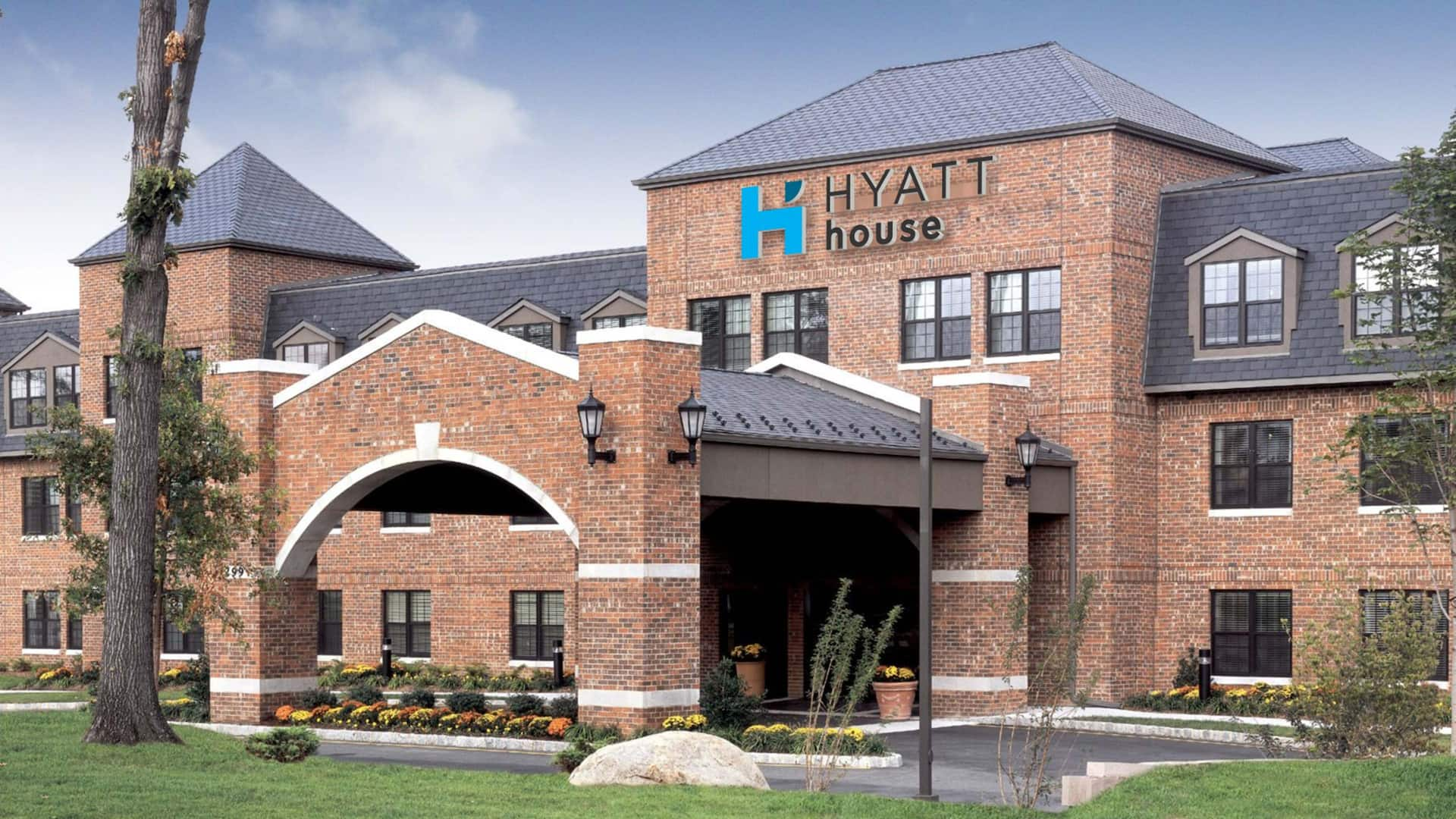 Hyatt House Exterior In Parsippany, New Jersey
