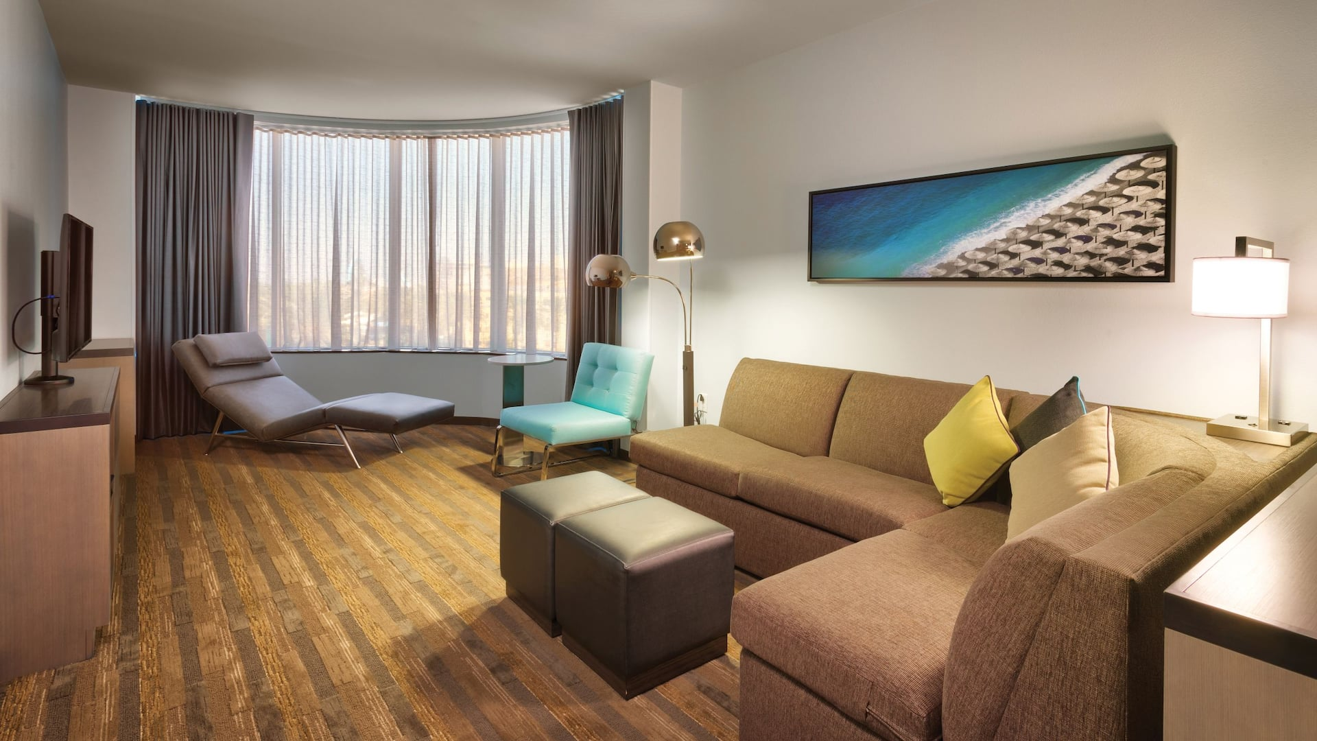 Hyatt House Tower Living Room
