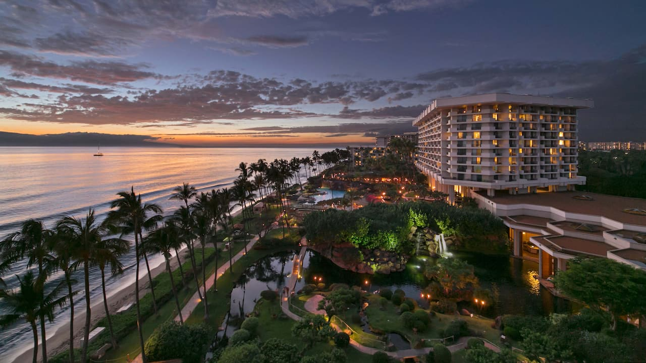 Resort Evening Hyatt Regency Maui Resort and Spa Resort