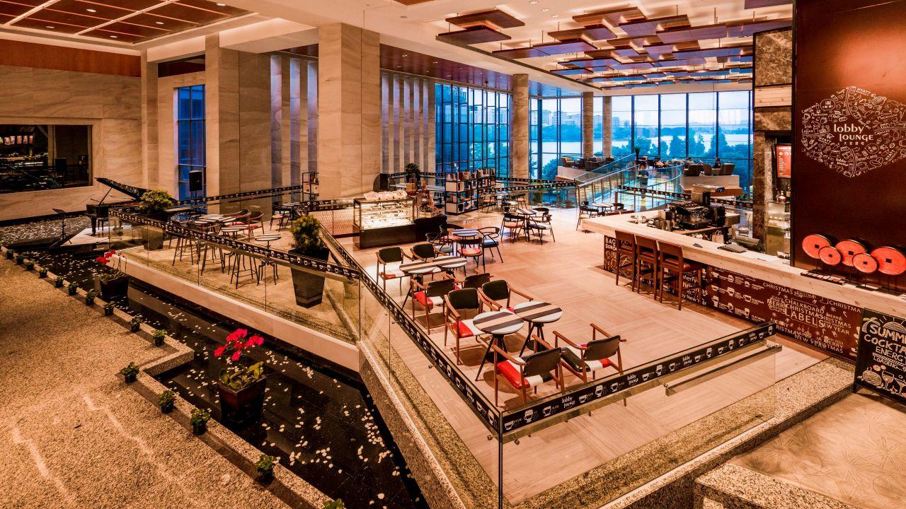 hyatt lobby area