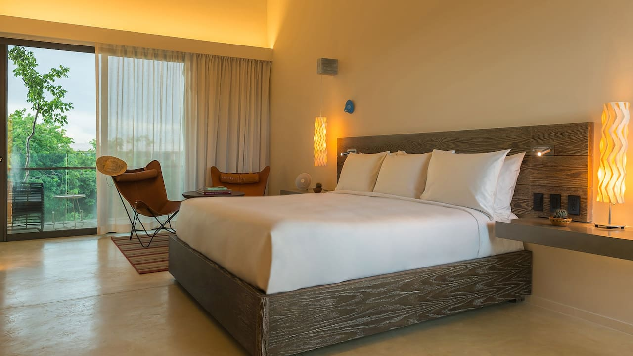 Andaz Mayakoba Resort Riviera Maya 1 king bed