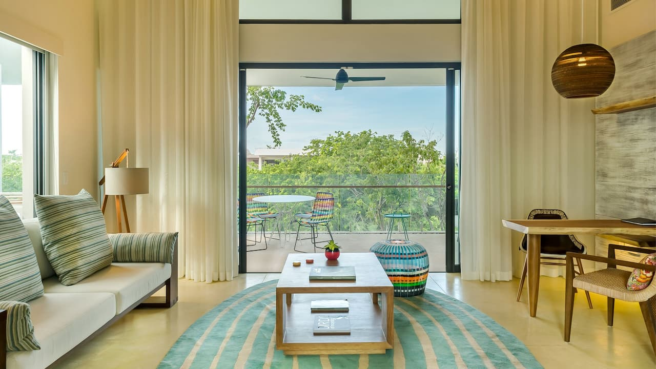 Lagoon View Suite Living Room centered