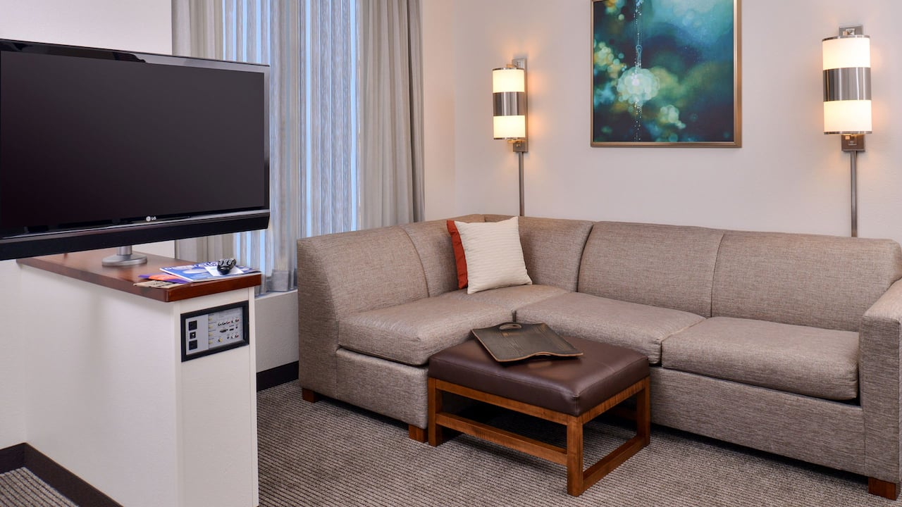cozy corner living guestroom