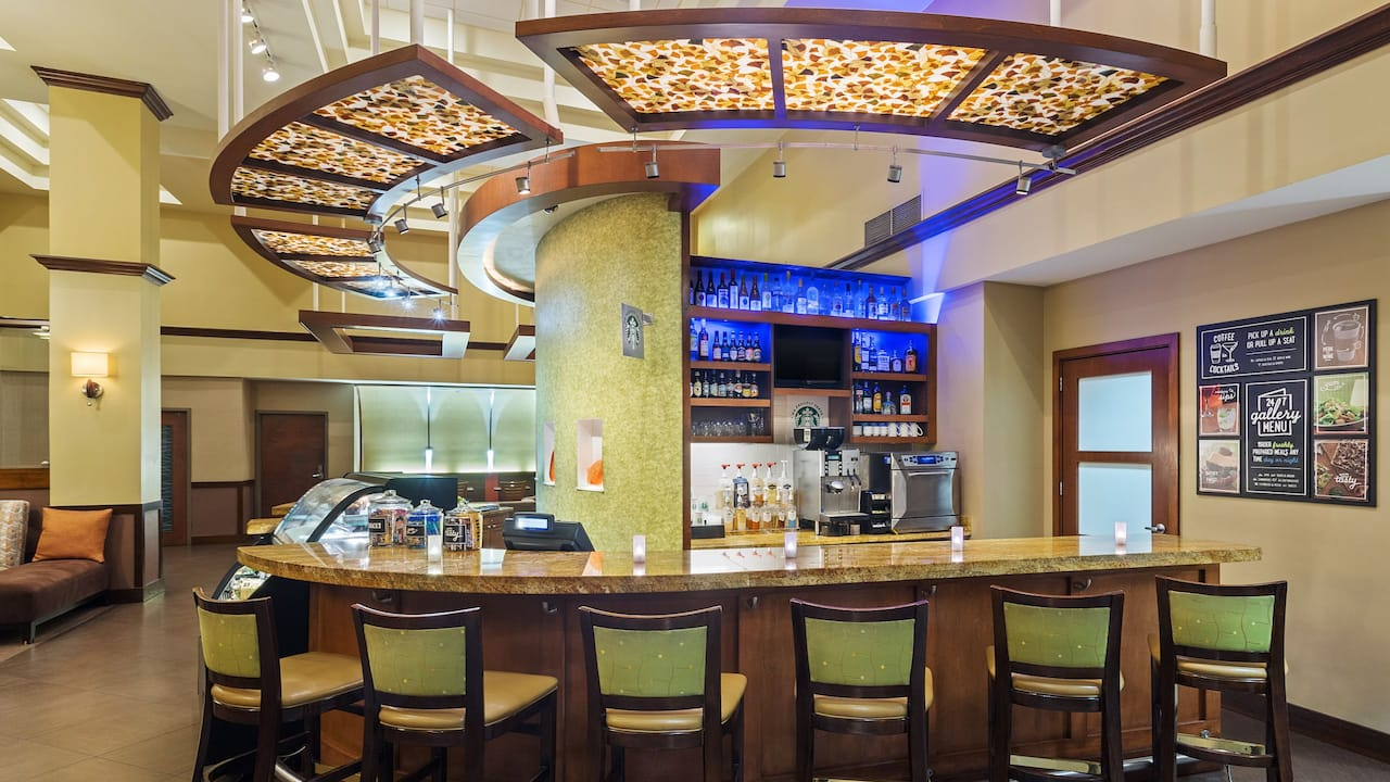 hyatt hotel bar