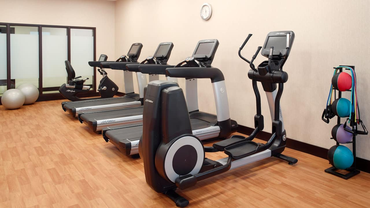 Hotel Gym Open 24/7 with Cardio Equipment – Hyatt Place Arlington/Courthouse Plaza