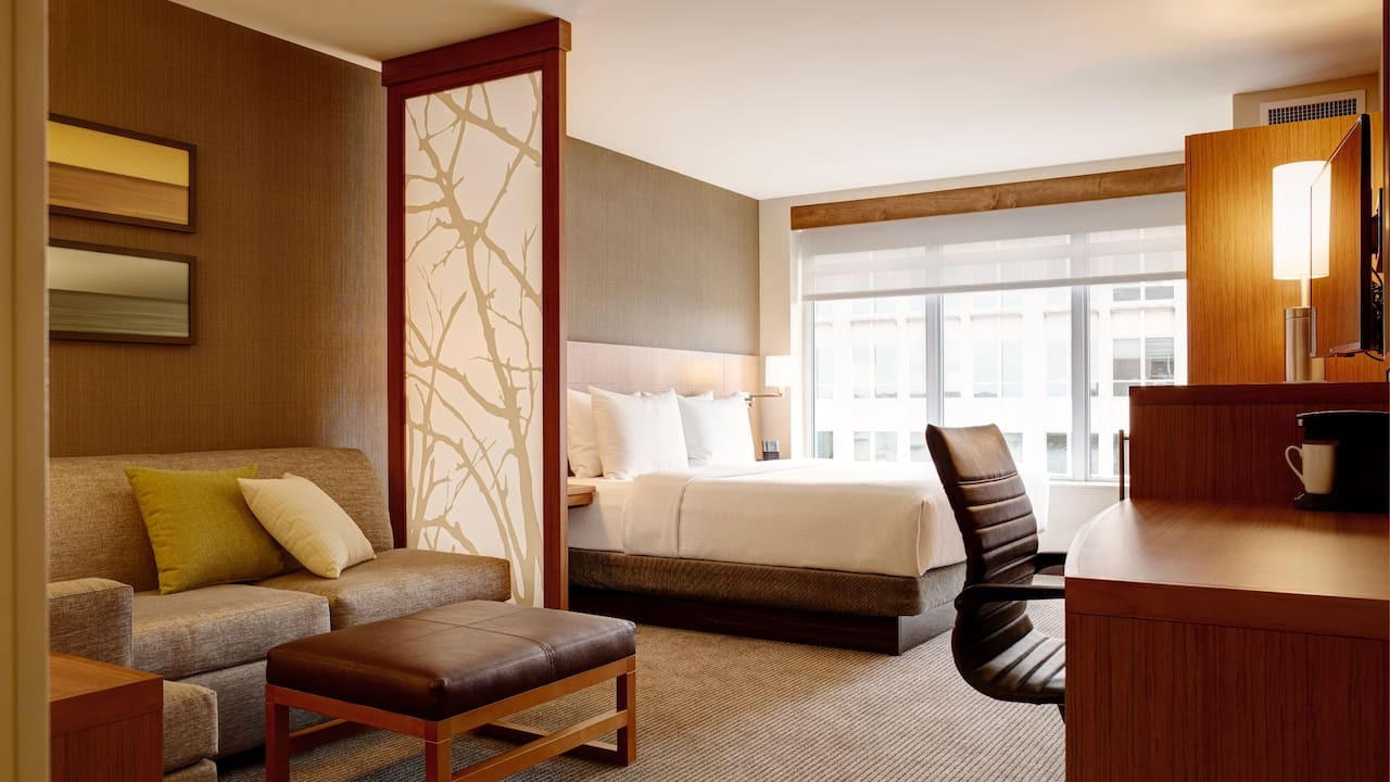 Pet-Friendly Guestrooms in Arlington – Hyatt Place Arlington/Courthouse Plaza