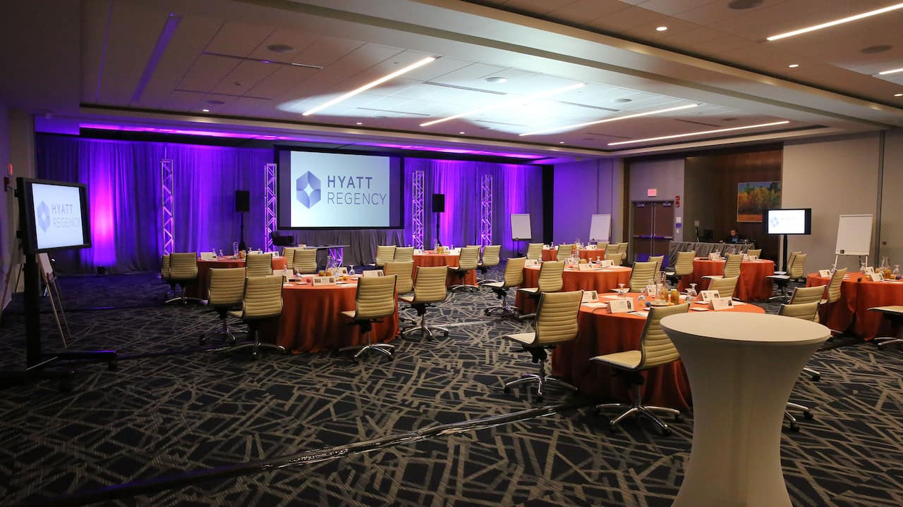 Hyatt Regency Columbus Meeting Reception
