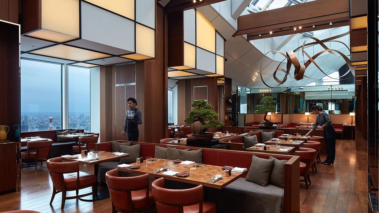 Andaz Tokyo Toranomon Hills, dining
