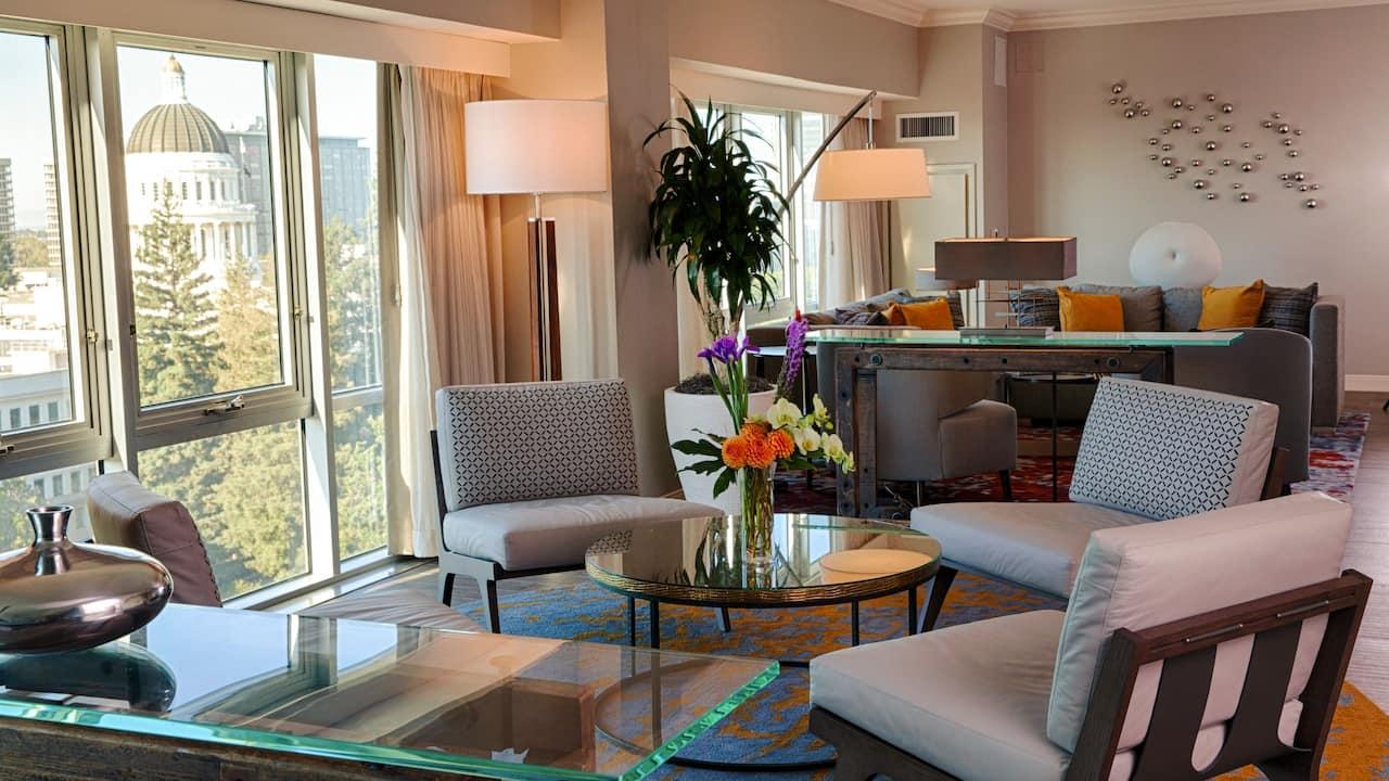 Presidential Suite Hyatt Regency Sacramento