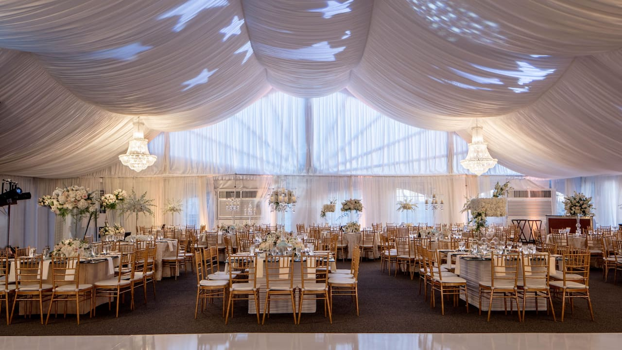 Outdoor San Diego wedding venue