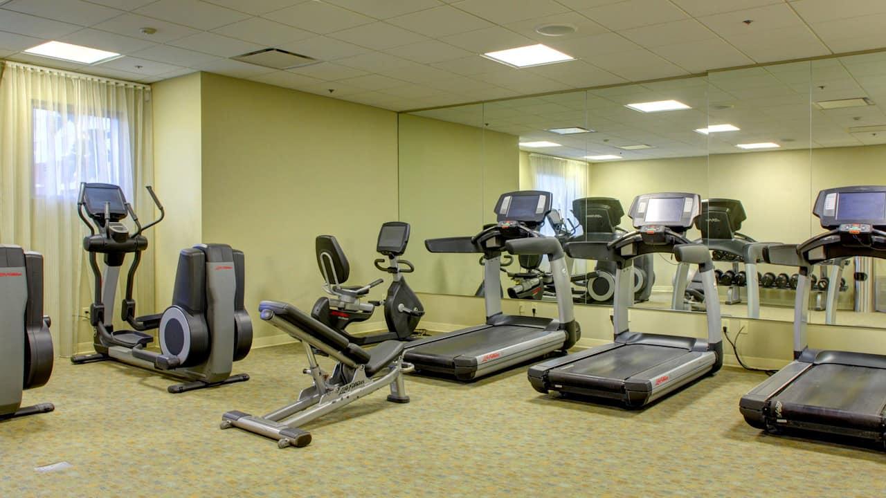 Hyatt House Fort Lauderdale fitness center