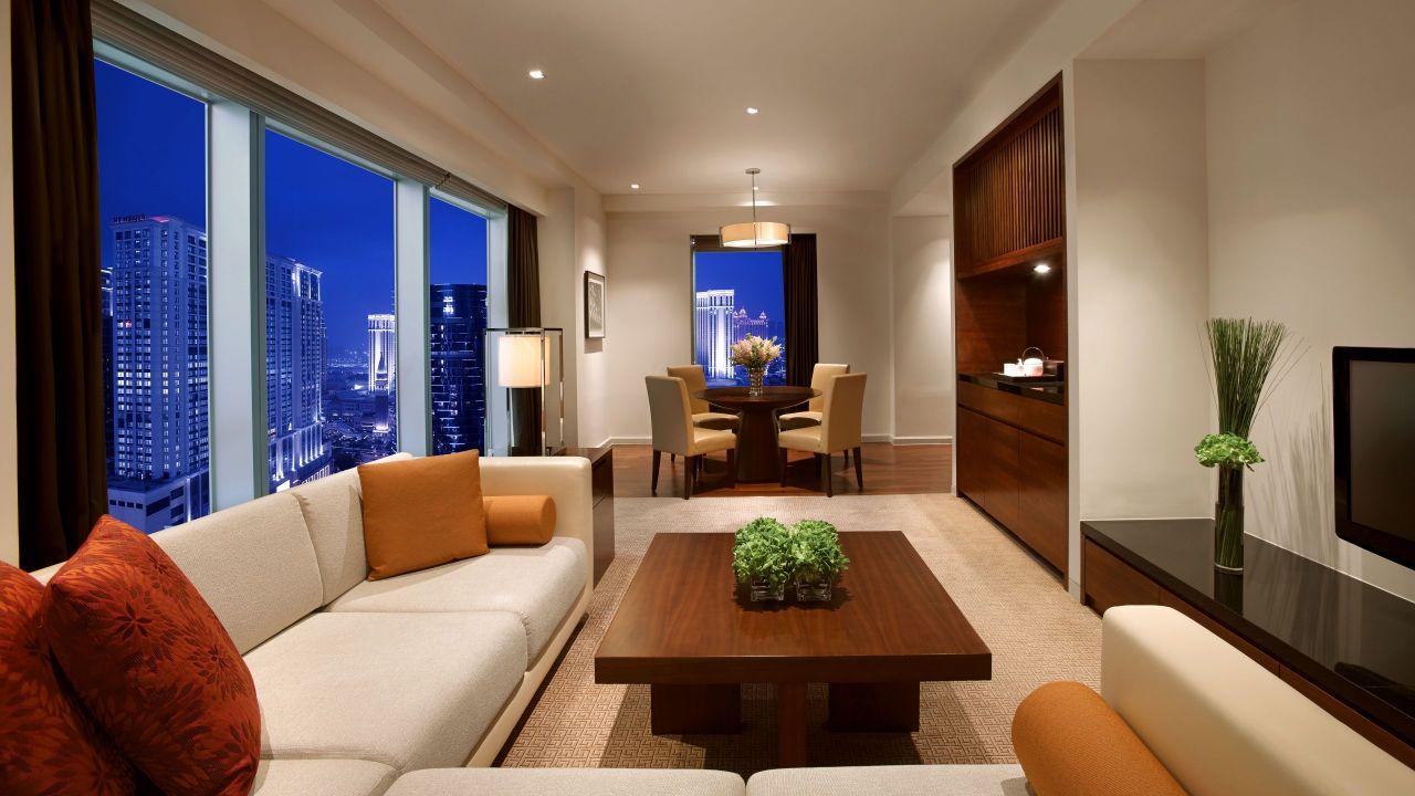 Grand Hyatt Macau Grand Deluxe Living Room