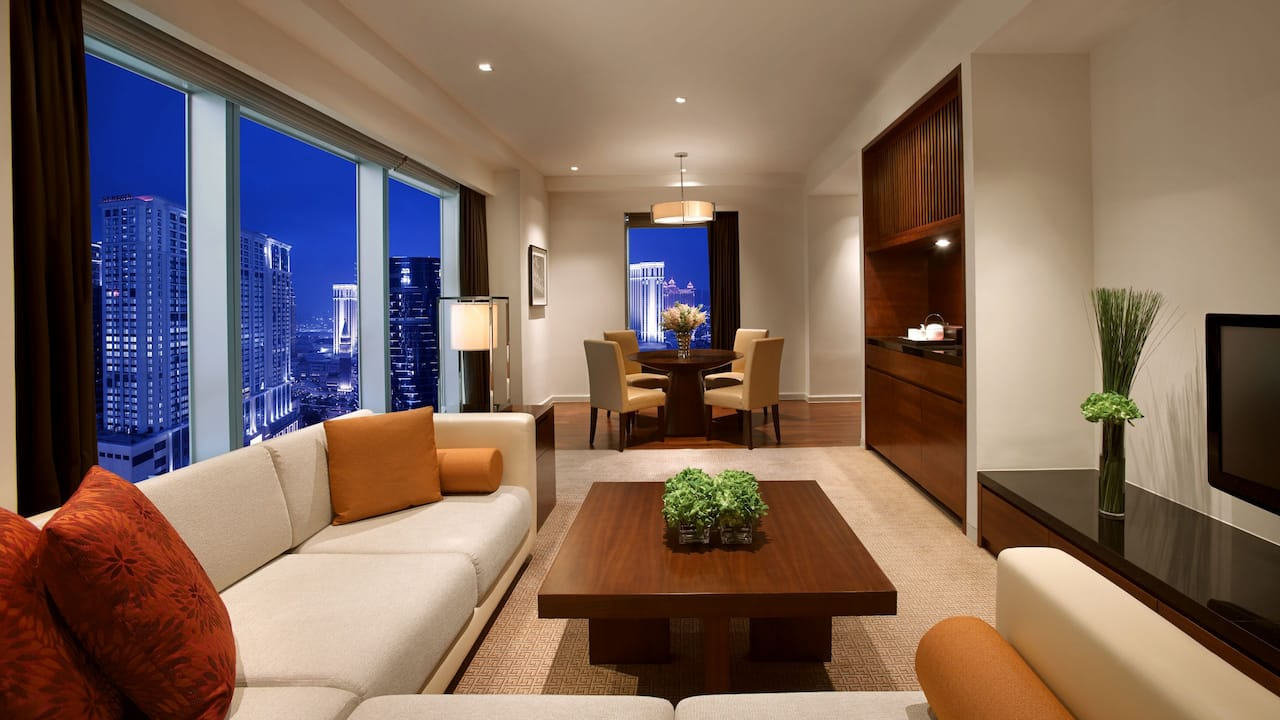 Hyatt Grand Macao Grand Deluxe Suite Living Room