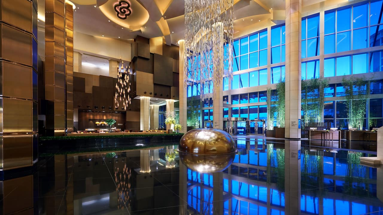 Grand Hyatt Macao Lobby