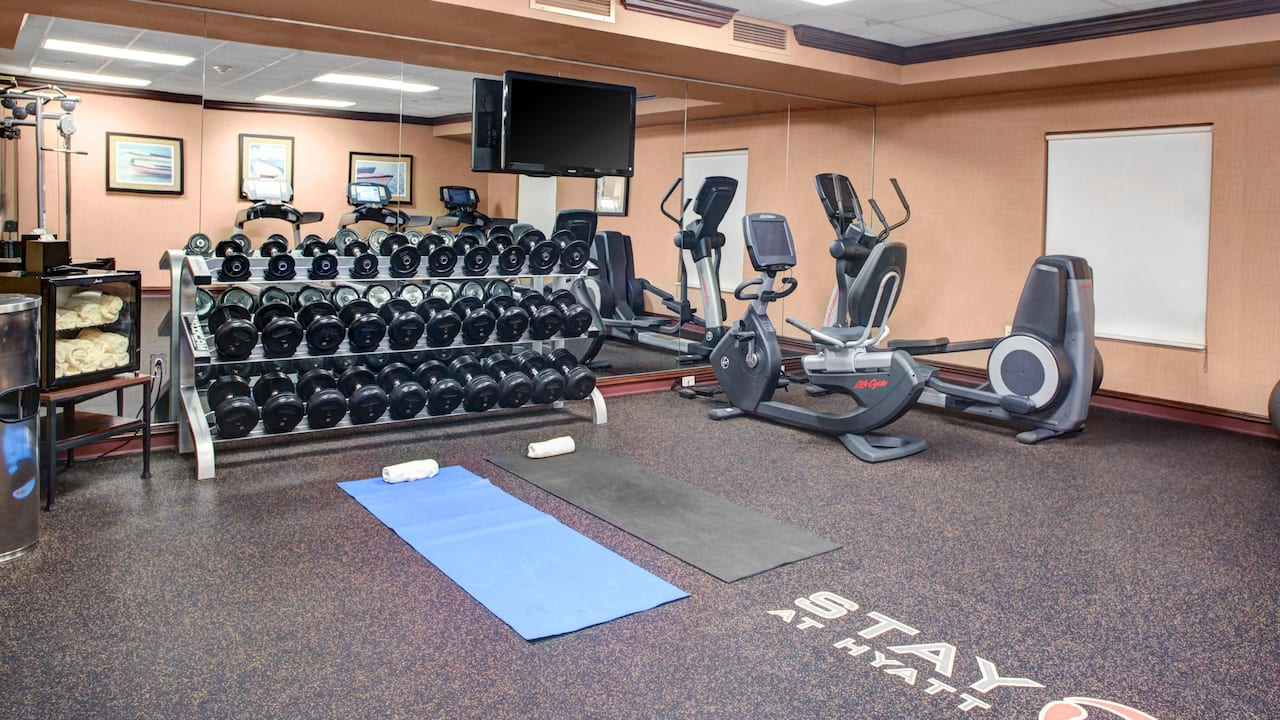 Hyatt House Branchburg Fitness Center
