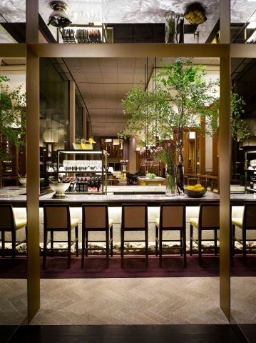 Grand Hyatt Seoul Wine Bar From Inside