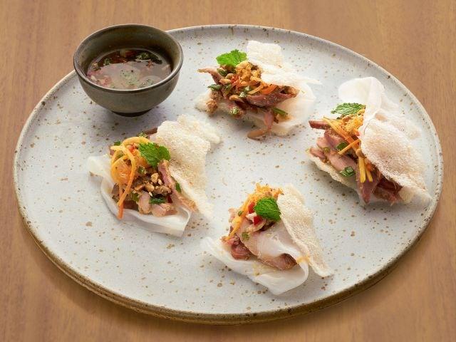 Square One Menu Banh Dap Vietnam Tasting Platter