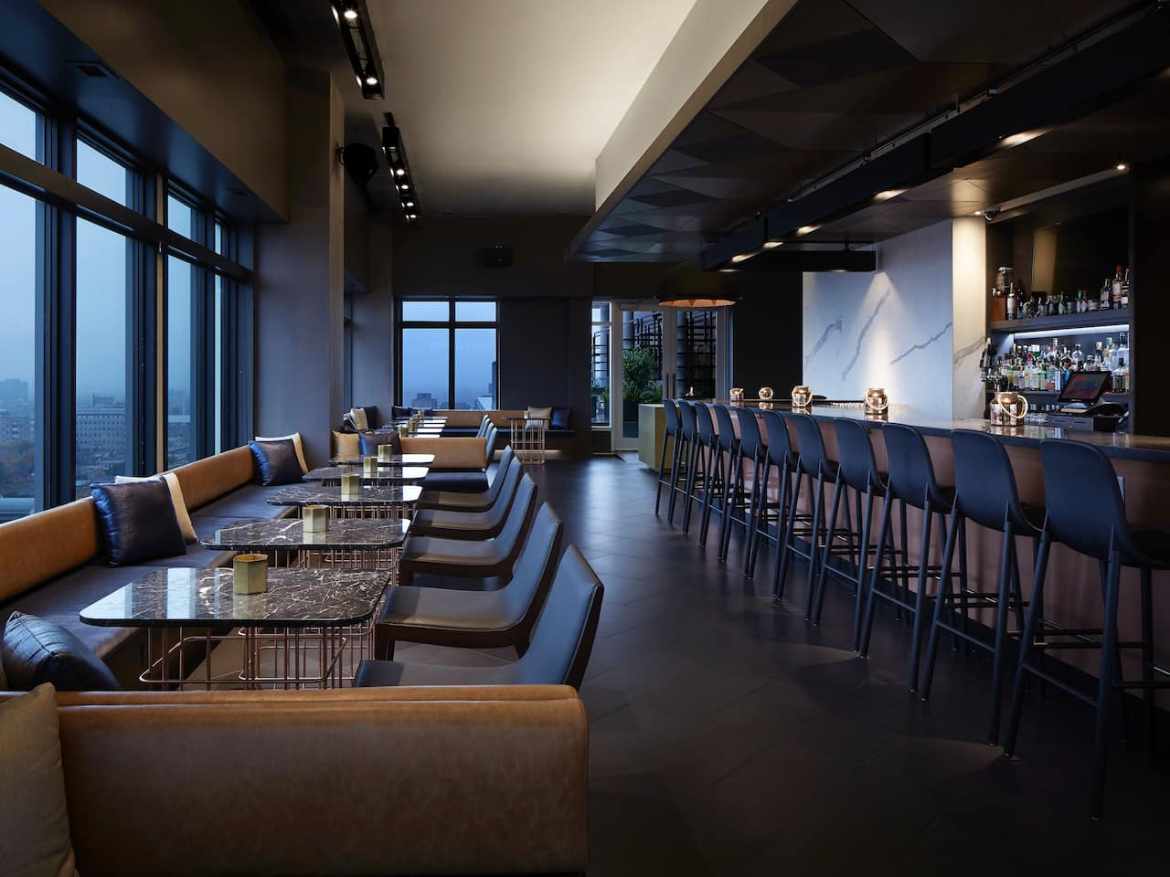Andaz Ottawa Copper Rooftop Lounge
