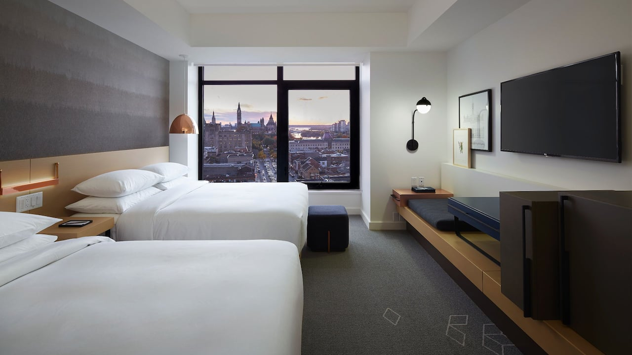 Andaz Ottawa Byward Market | Double Queen Beds