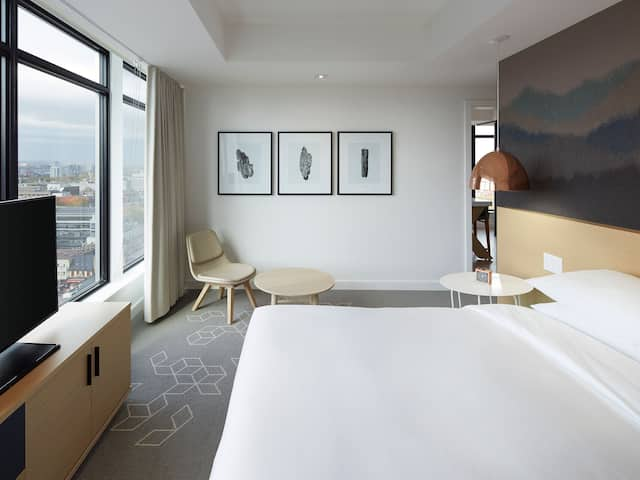 Andaz Ottawa Large Suite Bedroom