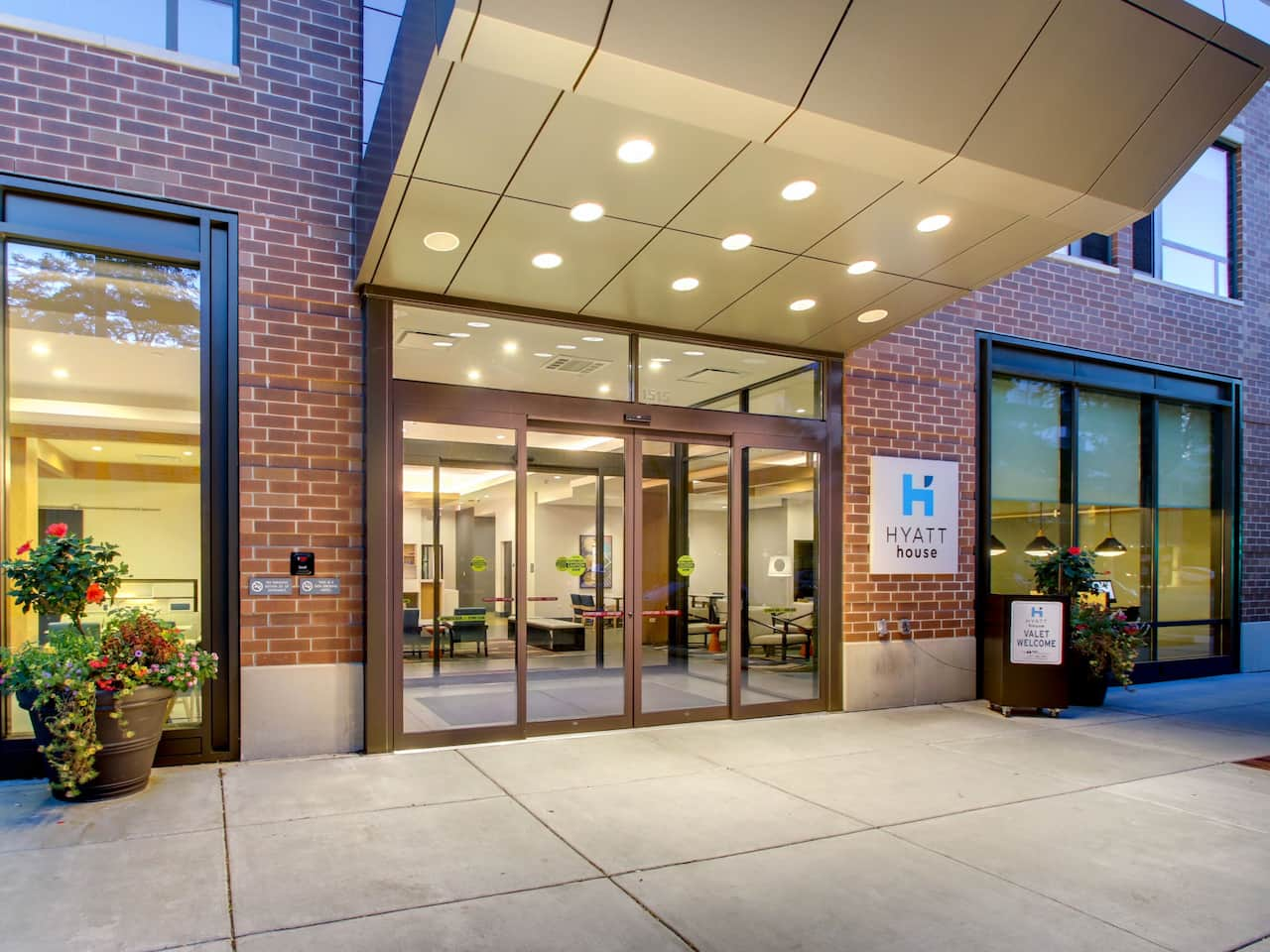 Hyatt House Entrance