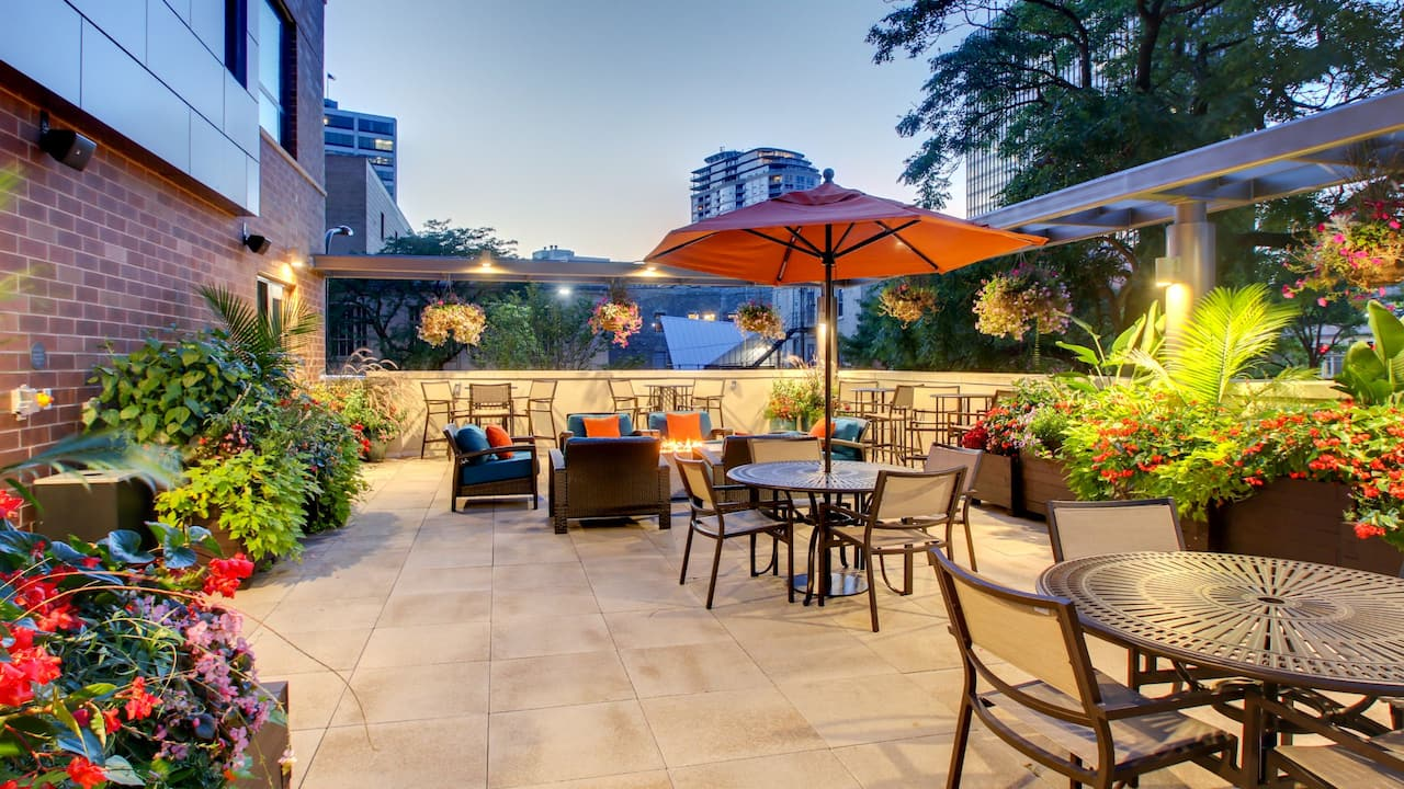 Hyatt House patio