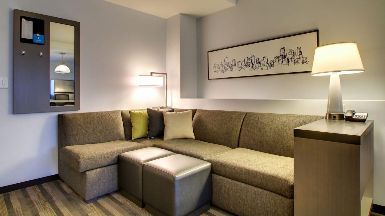 One Bedroom Cozy Corner