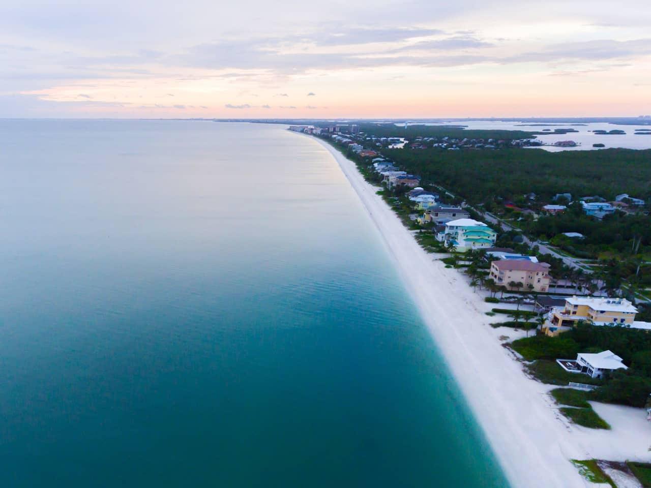 Beach View Aerial