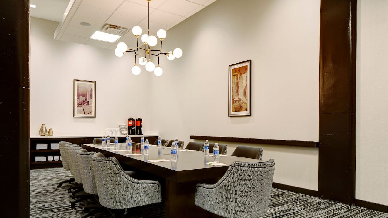 Modern Boardroom at Hyatt Place St. Paul/Downtown
