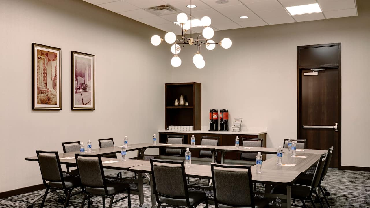 Flexible meeeting space at Hyatt Place St. Paul/Downtown
