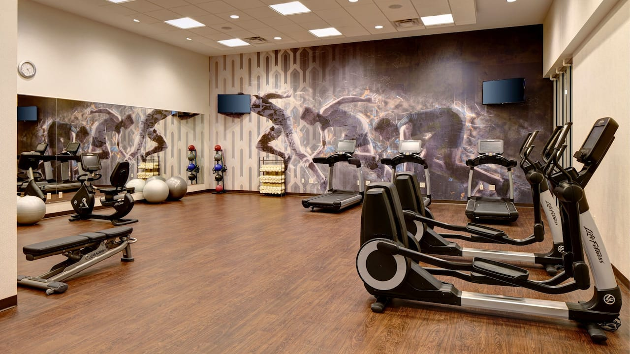 Hotel Gym Open 24 Hours – Hyatt Place St. Paul/Downtown