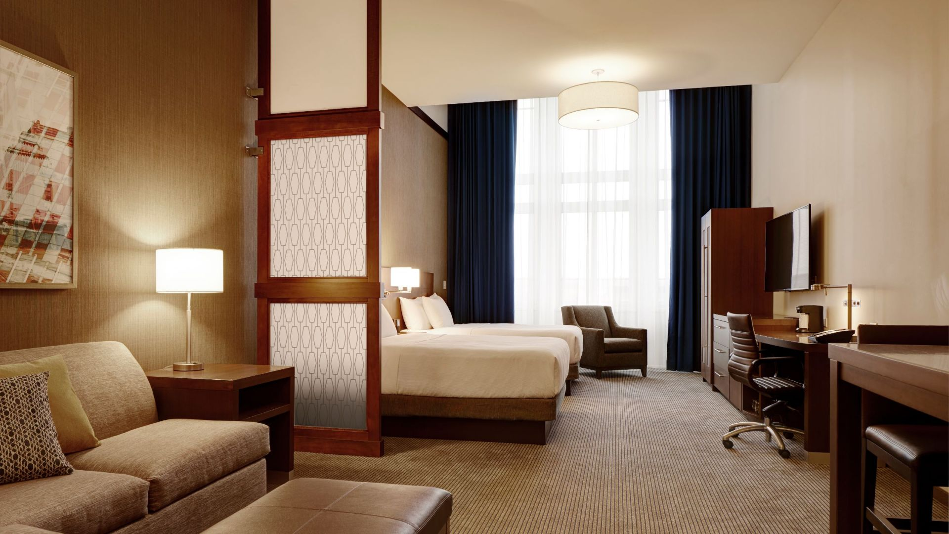 Spacious Double Queen Room in Downtown St. Paul – Hyatt Place Hotel St. Paul/Downtown