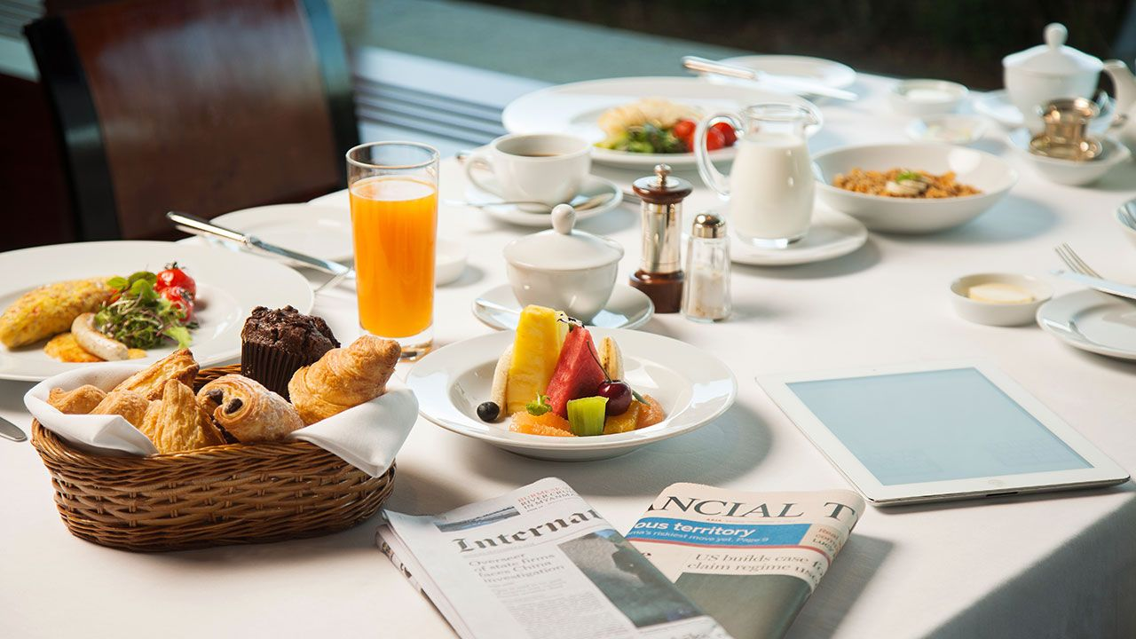 Grand Hyatt Seoul Hotel Breakfast