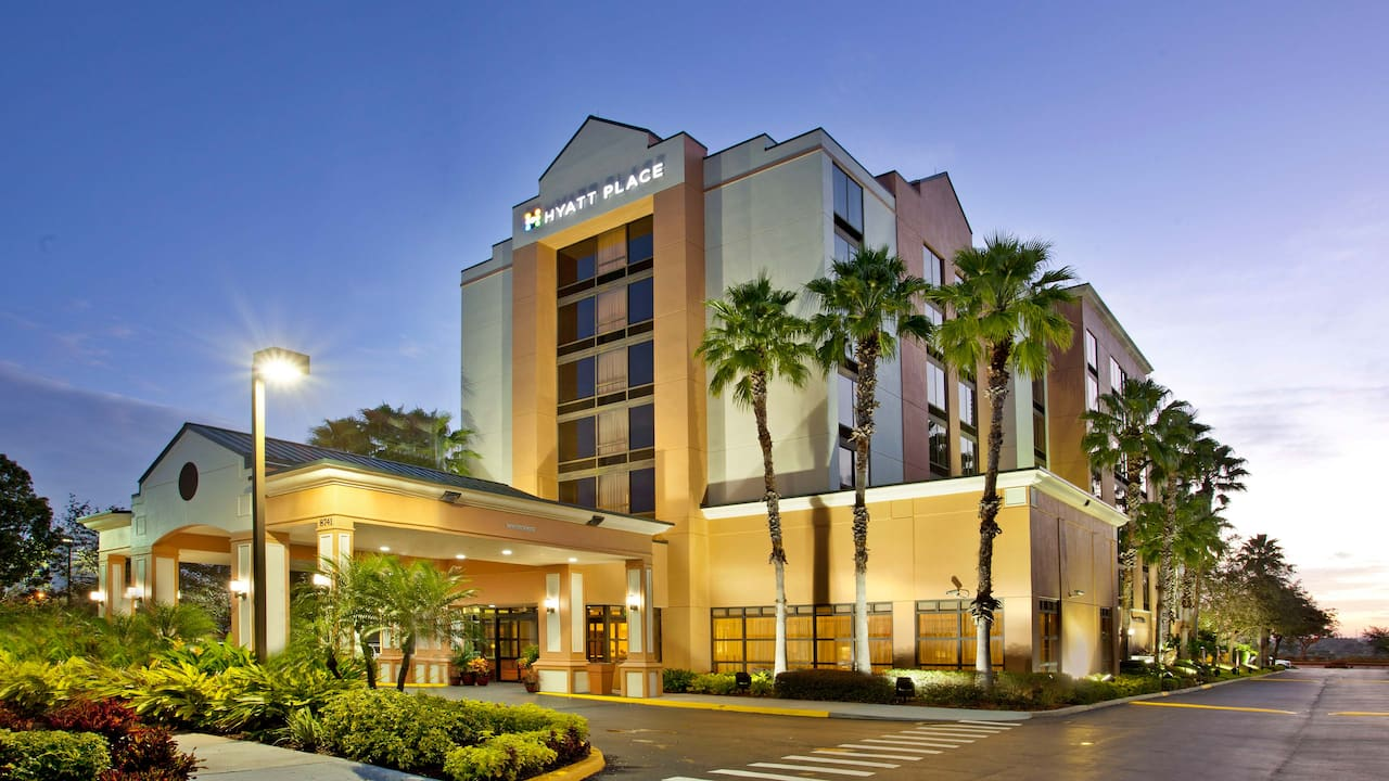 Exterior of Hyatt Place Orlando / Convention Center