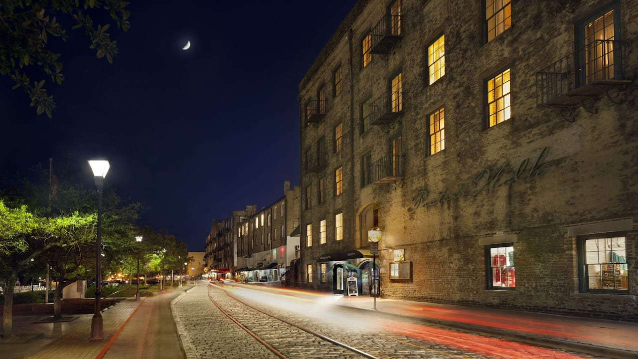 River Street Night