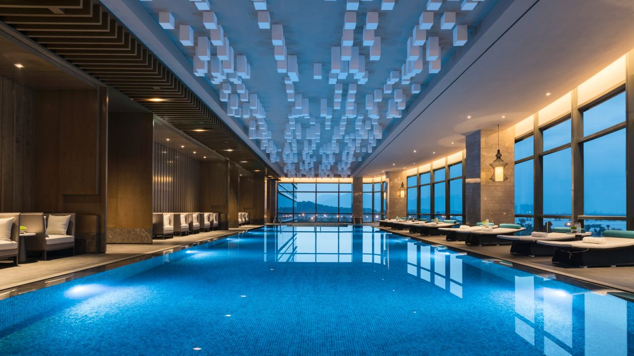 Hotel in fuzhou city center hyatt regency fuzhou cangshan - How long after you shock a pool can you swim ...