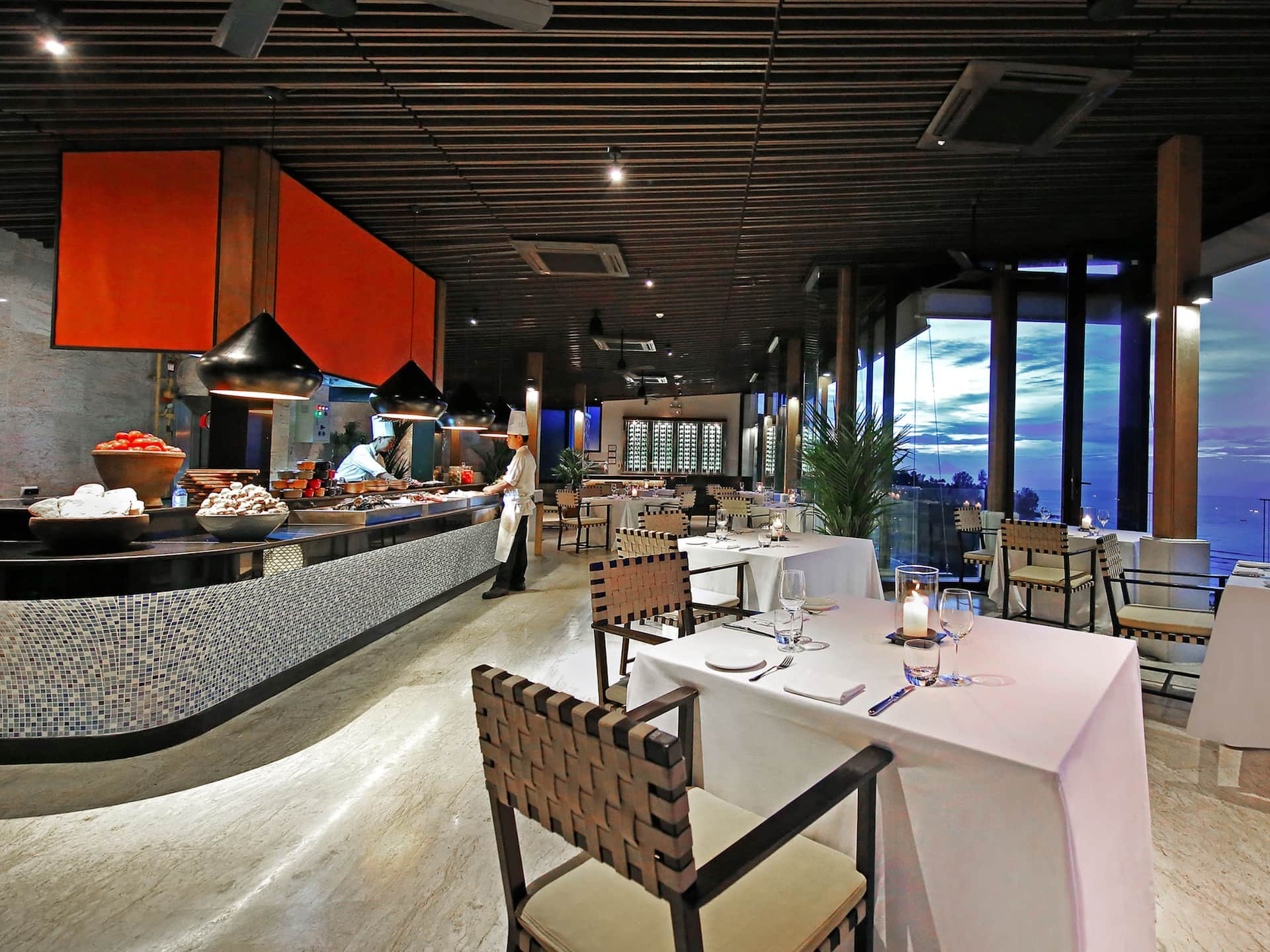 Best restaurant Kamala Beach Sunset Grill