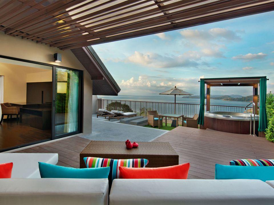 Ocean View Terrace Room Day