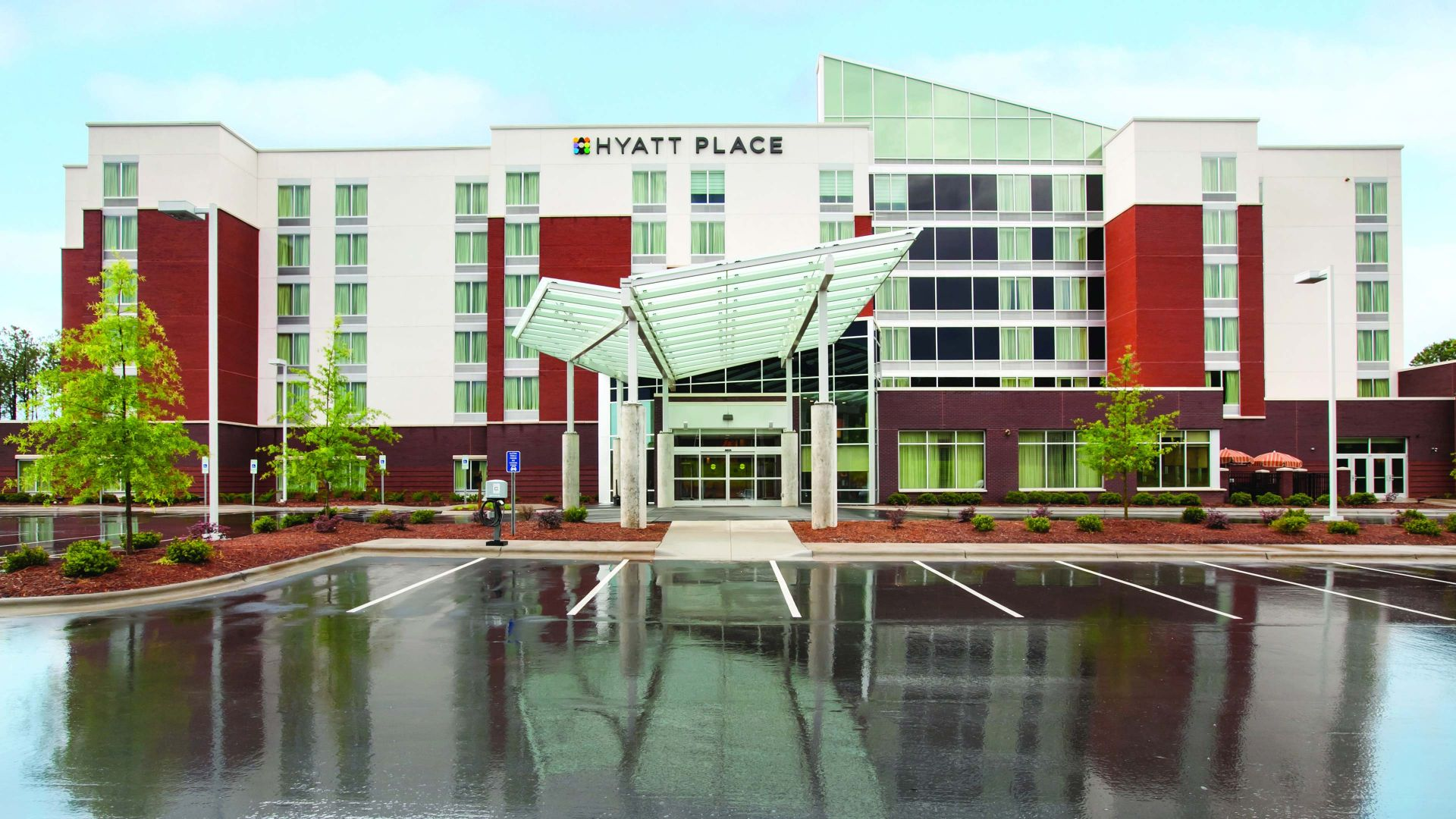 hyatt place exterior view