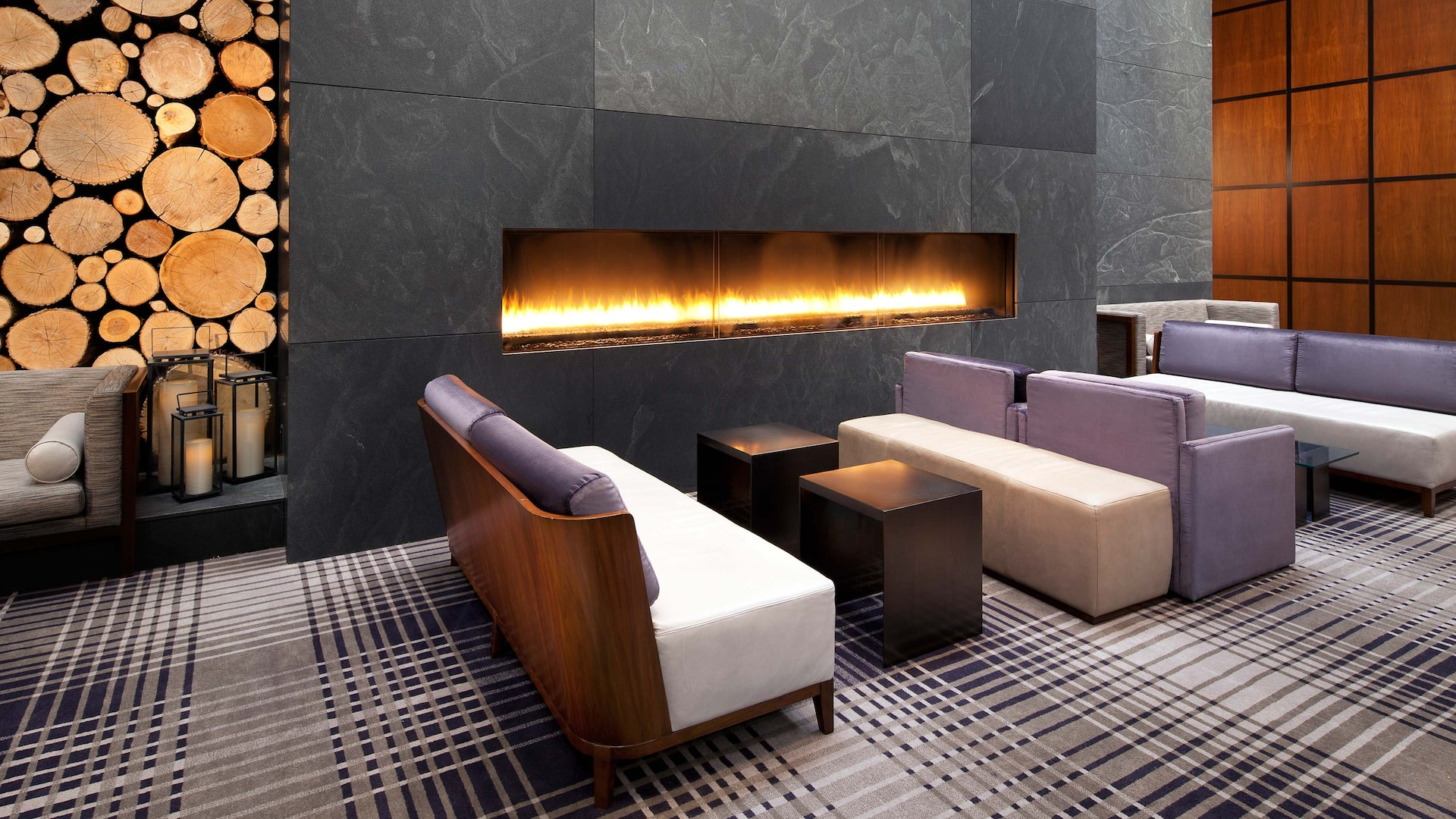 Hyatt Regency Minneapolis Lobby Fireplace