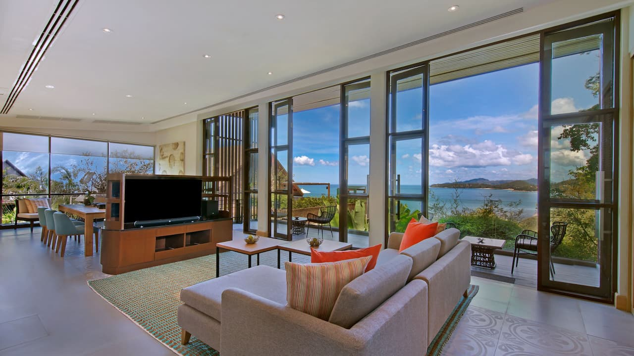 5-star Phuket Hotel Two Bedroom Premier Suite
