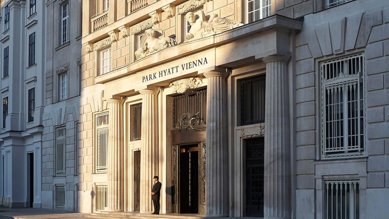 Park Hyatt Vienna Hotel Exterior